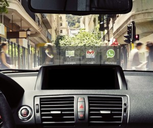 HeadsUP  A Transparent Smart-phone Integrated Windshield Display