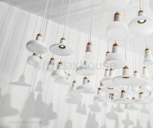 Shadows Lighting Pendants by Brokis