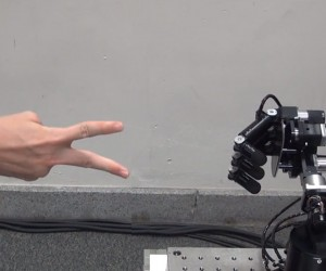 Superfast Rock-Paper-Scissors Robot Wins Every Time