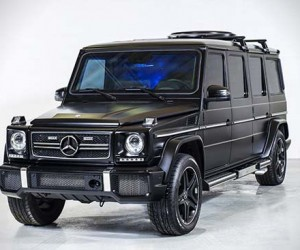 1 million armored and stretched Mercedes-Benz G63 AMG by Inkas