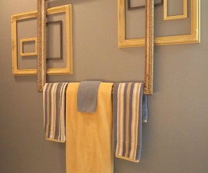 10 DIY Towel Holders for a Budget Bathroom Makeover