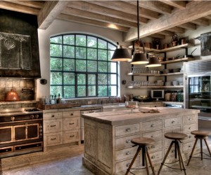 10 Rustic Kitchen Designs