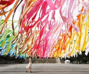 100 colors in Shinjuku Central Park by Emmanuelle Moureaux