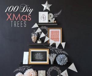 100 DIY XMas Trees