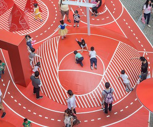 100architects Red Planet Playground In Shanghai