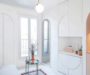 11 sqm Paris Studio Apartment by Batiik Studio