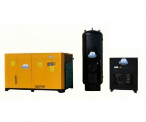 125HP 3 Phase VSD Rotary Screw Combination Package