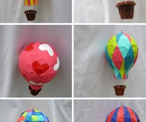 15 Adorable Hot Air Balloon Themed Crafts