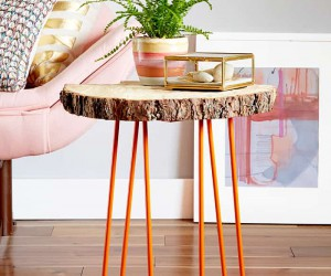 15 Best DIY Side Tables and End Tables