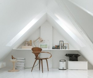 15 Bright Attic Spaces for an Office or Studio