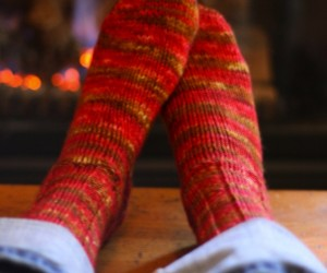 15 Cozy Knitted Sock Patterns