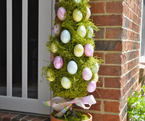 15 Cute DIY Outdoor Easter Decorations