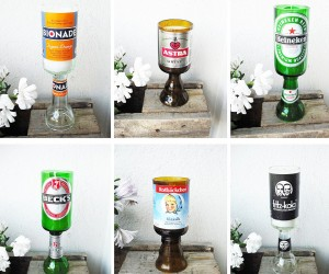 15 Cute Ways to Upcycle Glass Bottles, Jars, and Cups