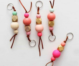 15 DIY Keychain Ideas That Are Homemade and Cool