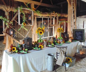 15 DIYs To Help With Your Summertime Barn Wedding