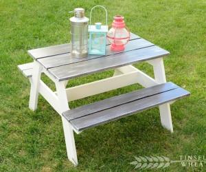 15 Fantastic Picnic Table Plans For Backyard