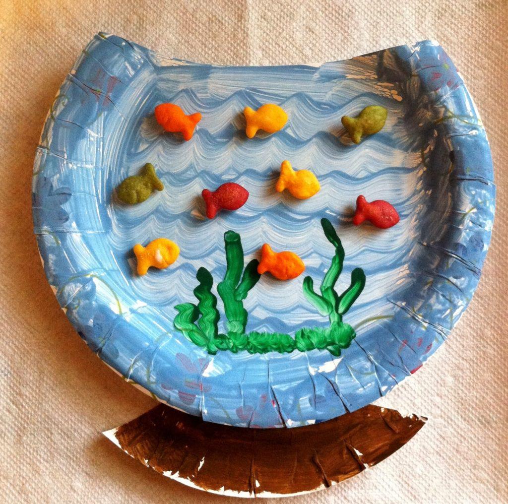 Поделки аквариума из пластилина