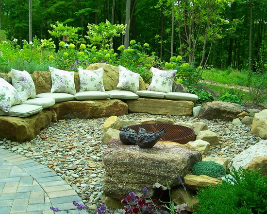 backyard rock garden ideas easy rock garden ideas to implement in your backyard landscaping and design