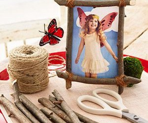 15 Kids Crafts Made From Sticks and Twigs