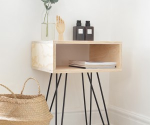 15 Lovely DIY Night Stands