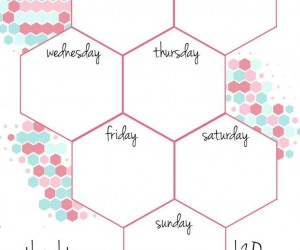 15 Printable Weekly Schedules For EVERYONE To Utilize