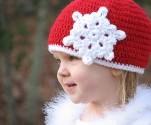 15 Super Festive Crocheted Christmas Hats
