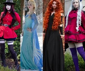 16 Year Old Angela Claytons Amazing Costume Designs