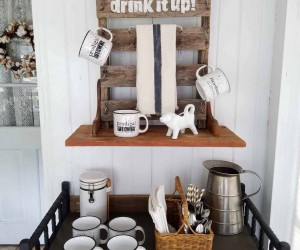 18 DIY Coffee Stations To Make Your Mornings Brighter
