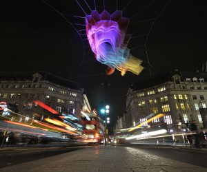 1.8 installation by Janet Echelman in London