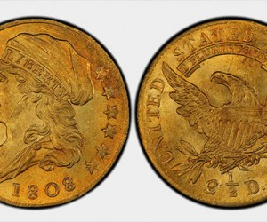 1808 Quarter Eagle gold coin fetches 2.35 million