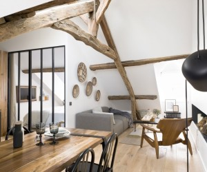 18th-Century Paris Loft Renovated with Eclectic Charm