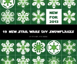 19 New DIY Star Wars Snowflakes