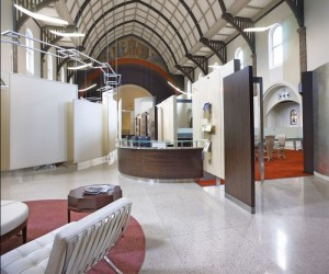 1920s Church Conversion To A Modern Office