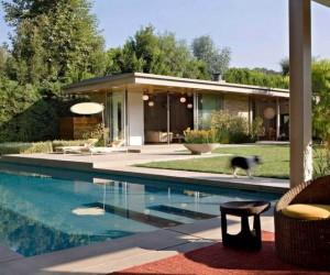 1940s Brentwood Ranch House Upgraded by Jamie Bush  Co