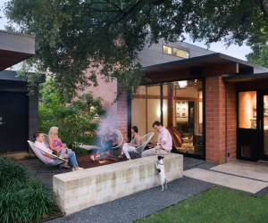 1954 One-Story House Renovated by Tobin Smith Architect in San Antonio