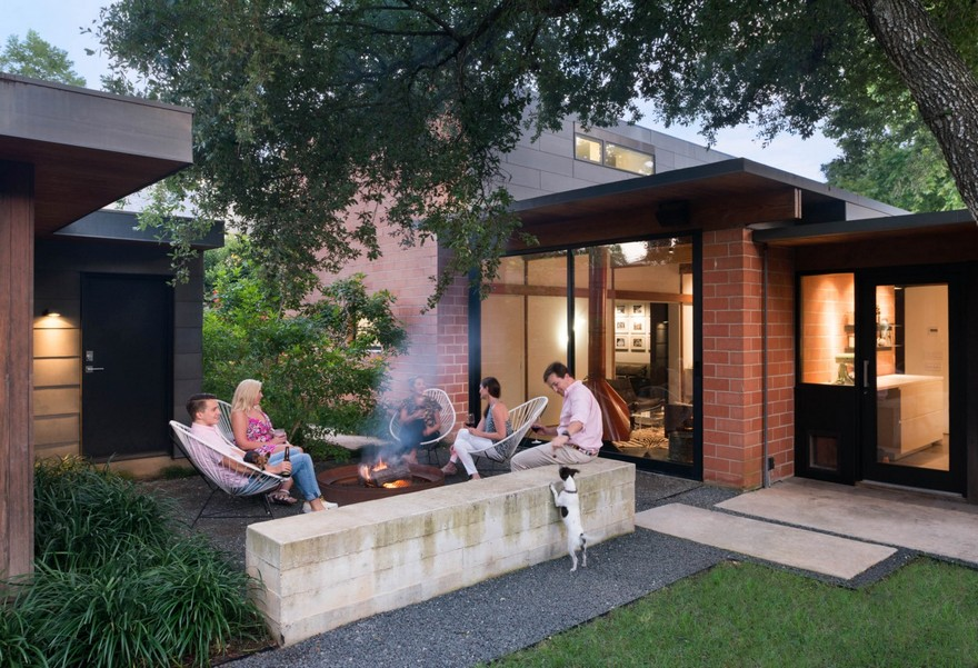 1954 One Story House Renovated By Tobin Smith Architect In