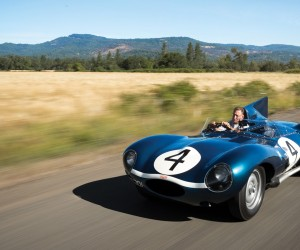 1955 Jaguar D-Type Goes Up To Auction