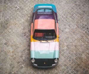1965 Porsche 911Gets Iconic Paul Smiths Stripes