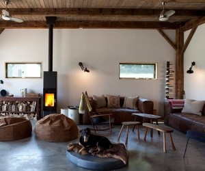 19th Century Barn Revamped into an Energy-Efficient Rustic Home
