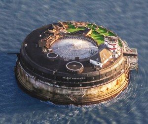 19th-Century Sea Fort Converted Into a Luxury Hotel