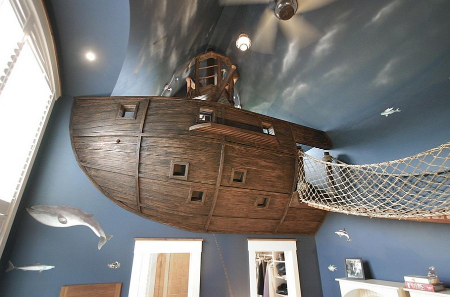 20 awesome kids bedroom ceilings that innovate and inspire rh materialicious com custom kids room design board Custom Home Theater Rooms