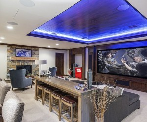 20 Beach Style Home Theaters and Media Rooms that Wow