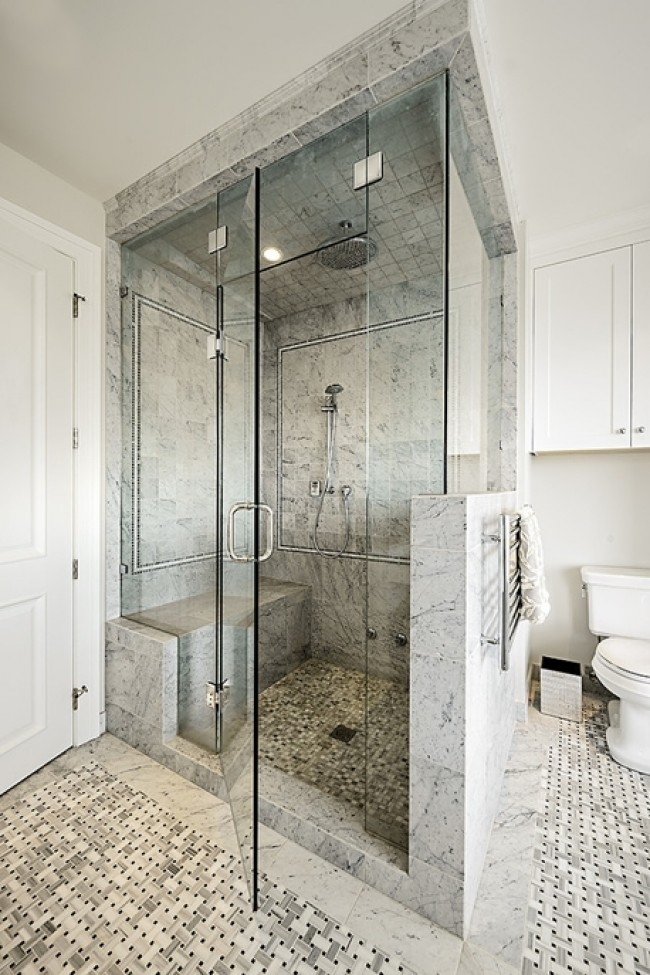 20 cool showers for contemporary homes for Contemporary shower