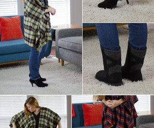 20 DIY Poncho Patterns To Get Hooked On This Fall