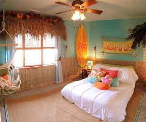 20 Kids Bedrooms that Usher in the Fun Tropical Twist