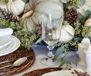 20 Thanksgiving Tablescape Decorating Ideas Using Natural Elements