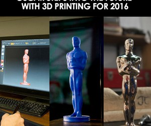 2016 Oscar Statuettes Are Made With 3D Printing Technology