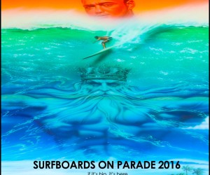 2016 Surfboards on Parade To Eradicate Skin Cancer