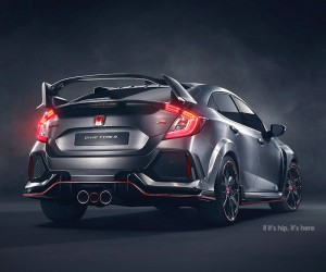 2017 Honda Civic Type R Prototype Unveiled