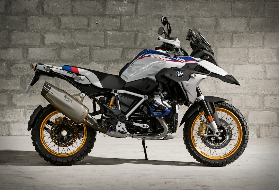 Studio takes of the new BMW R 1250 GS Adventure, Style